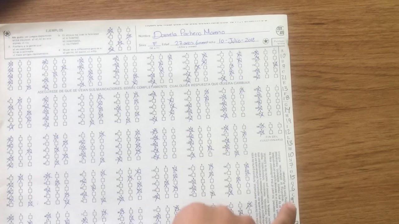 prueba 16 p.f