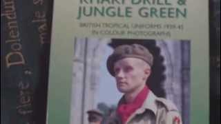 BOOK REVIEW,KHAKI DRILL AND JUNGLE GREEN,BRITISH TROPICAL UNIFORMS 1939-1945