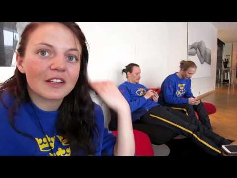 Intervjuer med landslaget inför OS