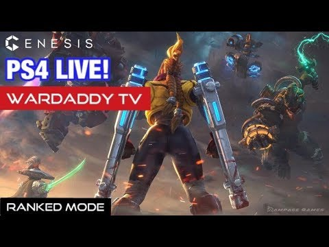 GENESIS Ranked Mode (PS4 MOBA) | ASIA Server (LIVE) #53