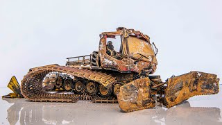 Snow Machine Pistenbully - Restoration Abandoned Model Truck
