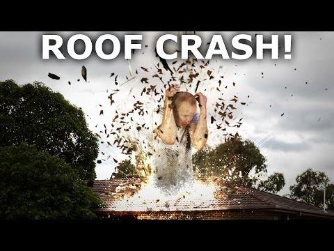Roof Crash Destruction VFX Tutorial - Adobe After Effects & Cinema 4D
