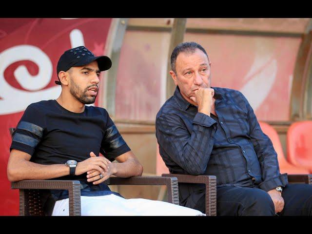مران الأهلي| الخطيب عقد جلسة مطولة مع مؤمن زكريا قبل سفره لألمانيا