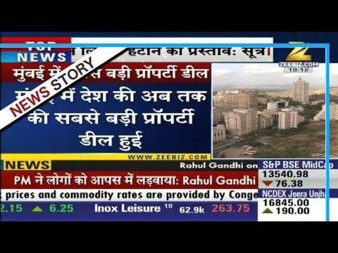 India's biggest property deal in Mumbai