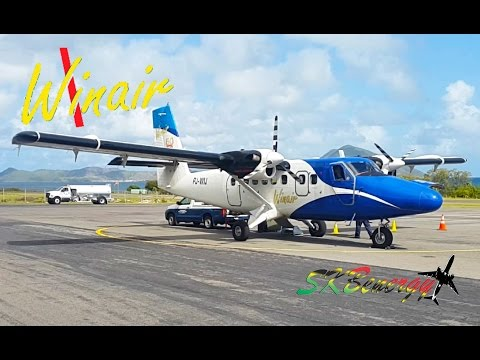 St. Maarten to Nevis to St. Kitts on a Winair Twin Otter...Trip Report