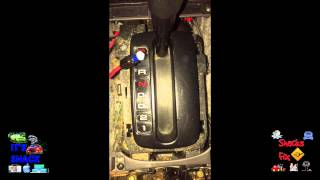 How to Change Gear Shift Light Bulb 2000 Honda Accord