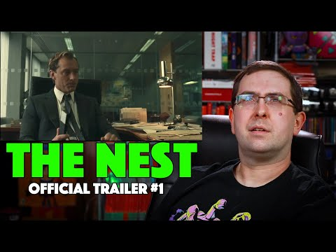REACTION! The Nest Trailer #1 – Jude Law Movie 2020