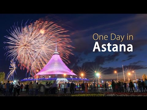 One Day in Astana (Nur-Sultan) | Нур-Султан, Казахстан