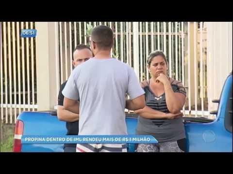 Esquema de propina no IML rendeu mais de R$ 1 milhão no Rio de Janeiro