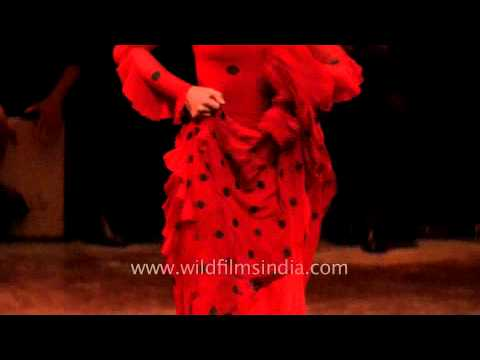 Superstar of Flamenco World - Maria Pages performs in India