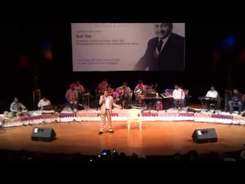 'Mujhko Mere Baad Zamana Dhoondega' timeless sentimental Rafi Number sung by Roshan Lal, Pratapgarh