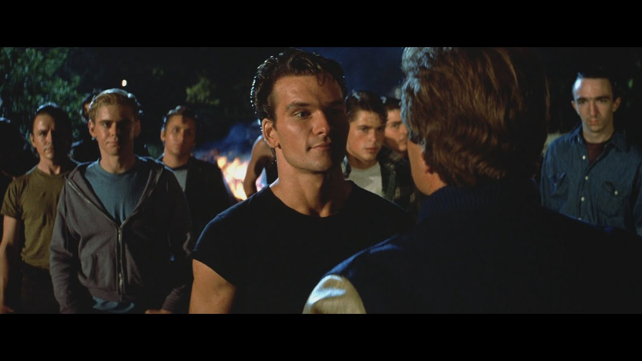 Download THE OUTSIDERS HD REMASTERED - RUMBLE BETWEEN GREASERS & SOCS - LOWE DILLON HOWELL SWAYZE ESTEVEZ