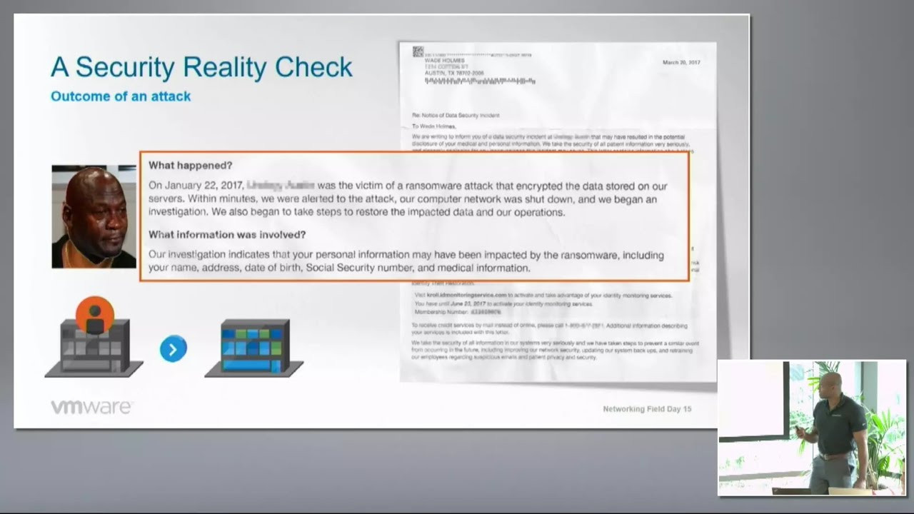 VMware Security with NSX Micro-Segmentation with Wade Holmes