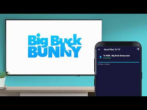 How to send files to android tv ?