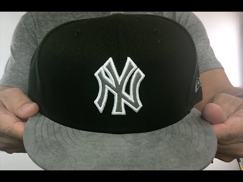 Yankees  TONAL-CHOICE  Black Fitted Hat by New Era - YouTube cc3e84e86b22