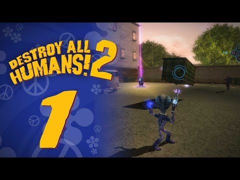 Let's Replay Destroy All Humans! 2 (PS4) – Episode 1 – Crypto's Back!