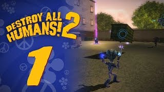 Let's Replay Destroy All Humans! 2 (PS4) - Episode 1 - Crypto's Back!