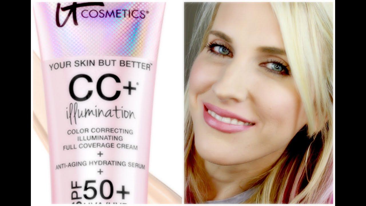 It Cosmetics CC + Illumination SPF 50+ (Light) Dr. Botanicals - Protect & Balance Hydro Cleanser - 5.07 oz.