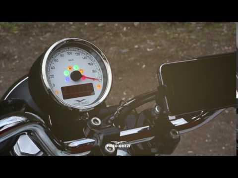 Moto Guzzi V9  the dial 1