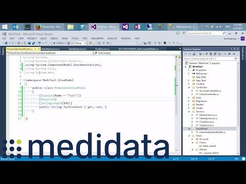 The Modern  .NET Web Stack Talk | Medidata