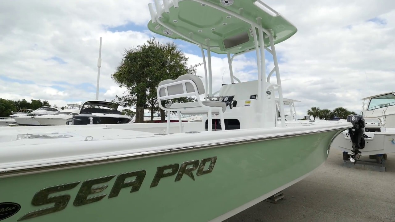 Tidewater Boats For Sale >> 2017 Sea Pro 248 Bay Boat For Sale At MarineMax Fort Myers! - YouTube