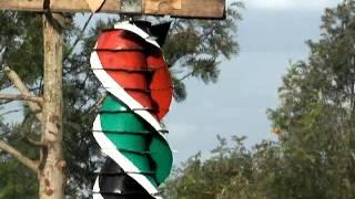 Flagship  Helix  Kenya Rotating Rising  Flag