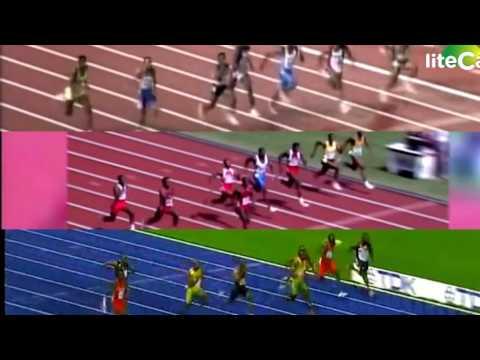 Usain Bolt vs Carl Lewis vs Ben Johnson Speed Comparison