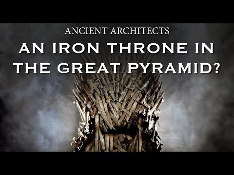 Great Pyramid of Egypt Void Update - Is there an Iron Throne Inside?