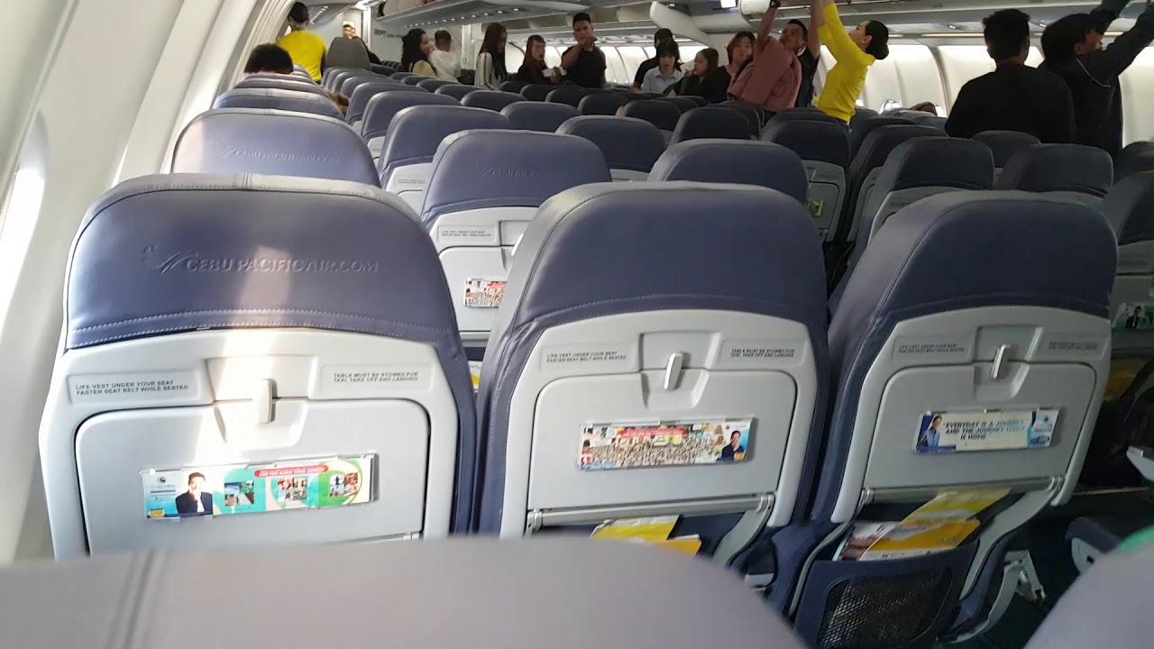 Inside The Cebu Pacific Airbus A330 300