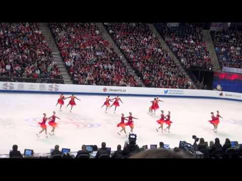 2015 WSSC Hamilton - Rockettes - Finland 2 - Free Skating