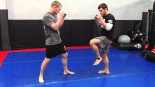 Technique of the Week 1:  Super Jab to Low Kick