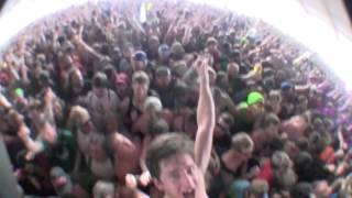 FLOGGING MOLLY - DRUNKIN' LULLABIES - BONNAROO 2012 - CROWD SURFIN' IT UP