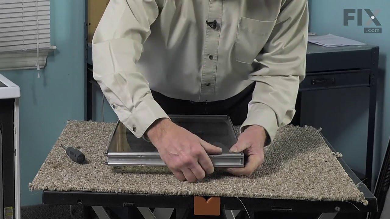 Maytag Range Repair U2013 How To Replace The Inner Door Glass Pane