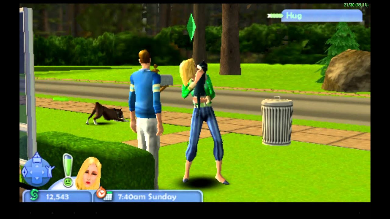 Sims 2, The (U)(Mode 7) ROM < NDS ROMs | Emuparadise