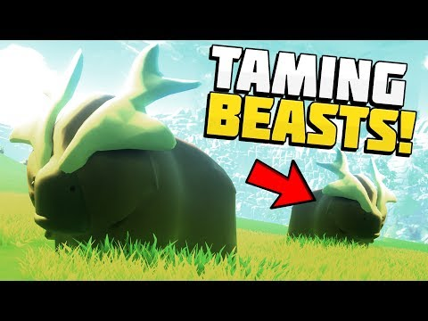Yonder - TAMING BEASTS & BUILDING A FARM! Zelda Meets Stardew Valley! - Let's Play Yonder Gameplay