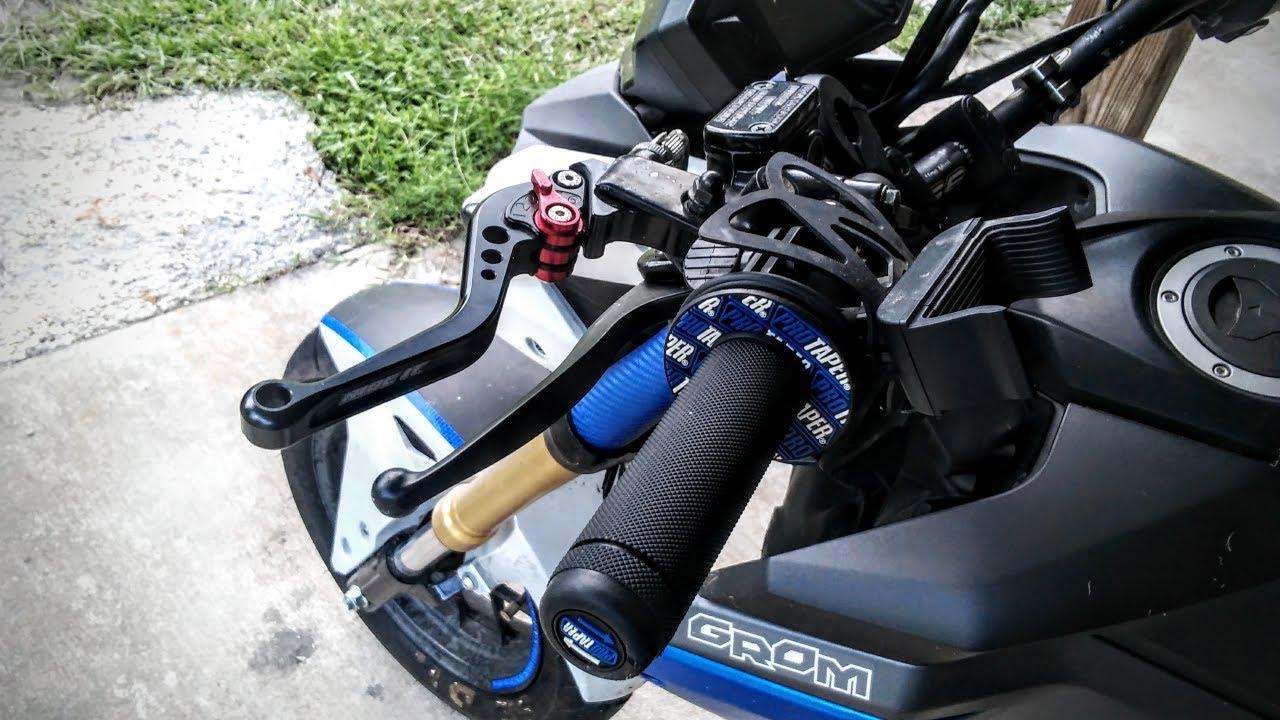 How To Install Rear Handbrake (HONDA GROM)