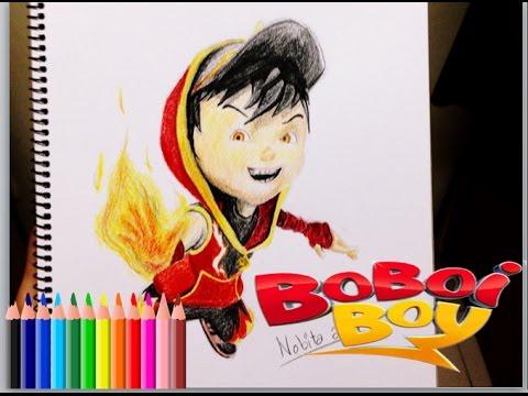 Boboiboy ( drawing boboiboy blaze )