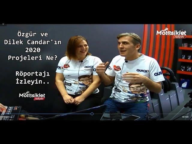 Motosiklet RadyoTv İstanbul Motosiklet Fuarı'nda 2 Teker 2 Yürek Röportajı