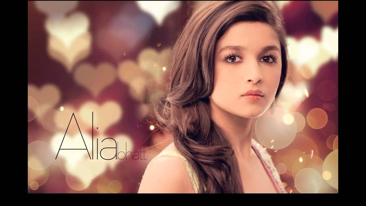 alia bhatt indian bollywood actress hd wallpapers video - youtube