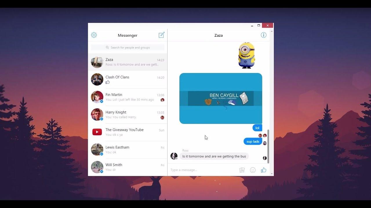 how to make videos on facebook messenger