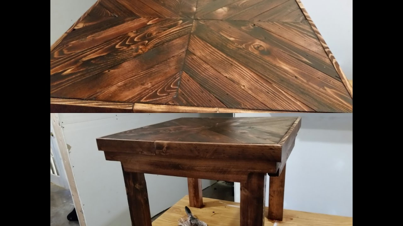 DIY Pallet Wood End Table Tutorial  EASY!!