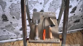 Установка натяжного потолка без помощника. Урок 10: подготовка к натяжке полотна