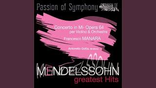 Concerto per violino e orchestra in Mi minore, Opera 64: Allegretto non troppo