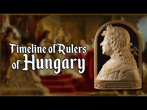 Timeline of Rulers of Hungary (895-2020)