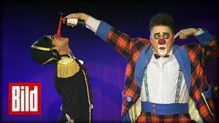 Circus Roncalli - Einen Tag lang, alles ausprobieren  - BILD Reporterin macht Akrobatik
