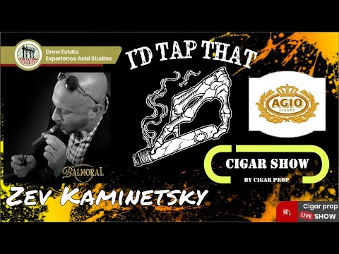 I'd Tap That Cigar Show Episode 16 With Zev Kaminetsky Of Royal Agio