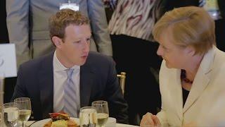 Mark Zuckerberg pledges internet for refugee camps