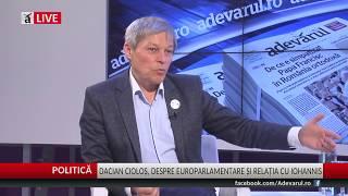 Ciolos ,,Avem partide care promit ajutor social, cum e PSD.