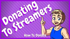 How to Donate on Twitch