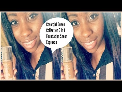 ❤ MAKEUP REVIEW | Covergirl Queen Collection All Day Flawless 3 In 1 Foundation PLUS Demo